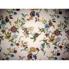 Crewel Fabric Khusum Natural Shock Cotton