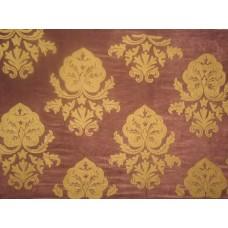 Crewel Fabric Konark Gold on Harvestcoffee Cotton Velvet