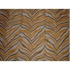 Crewel Rug Zebra Brown Chain Stitched Wool Rug (9x12FT)