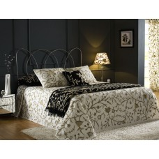 Crewel Bedding Tree of Life Neutrals on Classic White Silk Organ