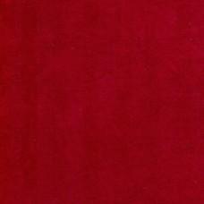 Cotton Velvet Passionate Red