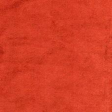 Cotton Viscose Velvet Aster Vermilion