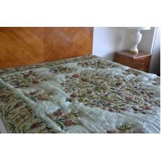 Crewel Bedding Mahal Sweet Talk Silk Organza Quilt