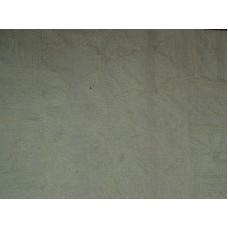 Crewel Fabric Chariot White on Vanilla Linen