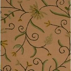 Crewel Fabric Barbosa Cocoa
