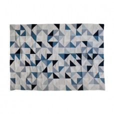 Harlequin Linen Crewel Throw