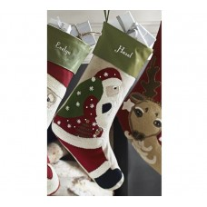 Crewel Embroidered Stocking